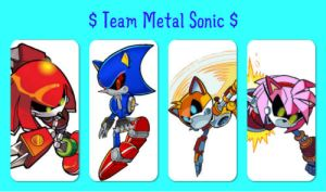 $ Team Metal Sonic $- Photo Collage by FinnLoverFanGirl