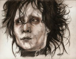 Edward Scissorhands by vaccatrea