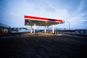 Gas station by Gregos