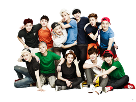 [PNG 40] EXO for Kolon Sport cf 01 by exotic-siro