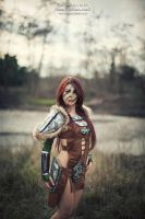 Aela the Huntress by Aleeusha