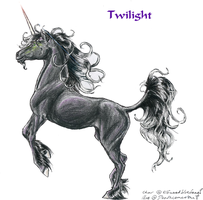 Twilight for Elfwood by Deathcomes4u