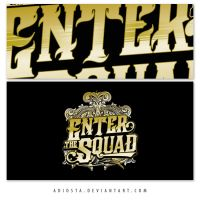 Enter The Squad Logotypes 3 by adiosta