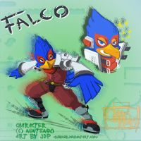 Our Man Falco by OsHoshi