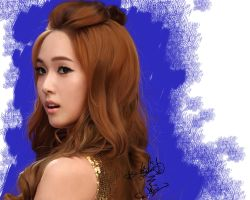 Painting SNSD Jessica hoot by aimgallagher