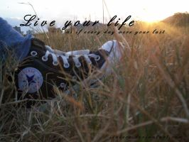 Live your life.... by isatere