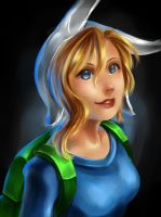 ADVENTURE TIME: Fionna by pikadiana