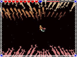 Merman and Hecatoncheir Unfinished Game Screenshot by JustinGameDesign