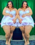 Bigcuties Britt Set 173 Weighty in White Vibrant by ENT2PRI9SE