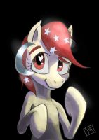 Temmy the Singaporean Pony by MysteriMaan