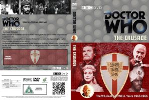 Doctor Who - The Crusade Region 2 DVD Cover by DJToad