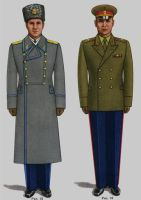 Soviet Army Uniforms 3 by Peterhoff3