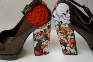 Pinup diy heels tattoo2 by Thelastcaress