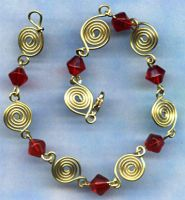 wire work bracelet by Craftcove