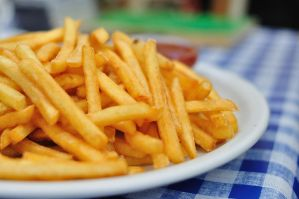 Pommes frites by unpluggedsrb1