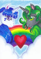 Unicorns in Love by BiSnarkian