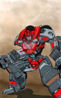 TFPrime : Ironhide 3.0 by 1314