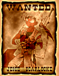 DBZ: Jeice Wanted Poster by Weasley-Detectives