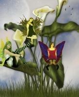 The Fairies of Lilyland by VisualPoetress