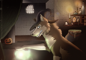 Please, BE MY GUEST? by Quomlon