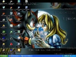 My Desktop - Revisited by courage-and-feith