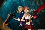 God Eater - Alisa n Julius by vaxzone
