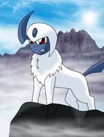 Absol by sketchinnegro