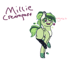 (OC) Millie Creampuff Reference by Two-broke-fangirls