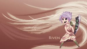 League Of Legends: Chibi Riven by scriptKittie
