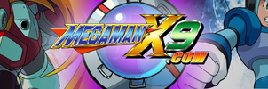 Mega Man X9.com Banner by Arby-Works