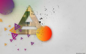 Abstract Triad wallpaper by lovelives4ever