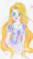 Rapunzel Tangled by Caami-chan