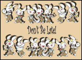 Don't Be Late by bwingbwing