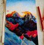 mountains by SamRose18