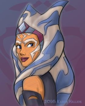 Ahsoka by khallion