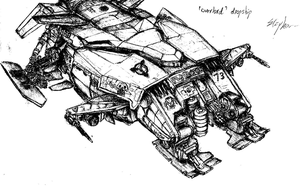 Overlord Dropship by fish333