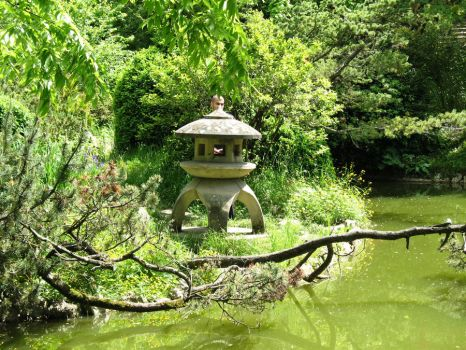 The Japanese Garden by Dory4