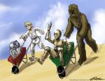 Let the Wookiee WIN! by johnjoseco