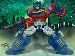 Optimus Prime by Boy-Meets-Hero