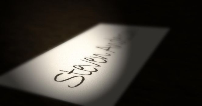 Name Typography - Card by swordless-saru