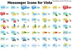 Messenger Icons for Vista by alexwhite2