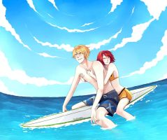 let's go to surf. by monnw