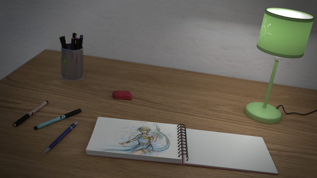 The desk by Canapy-3D