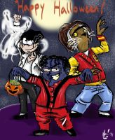 THRILLERween with the Eds by DoubleM