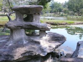 Stone Structure by StockChroma