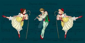 Nutcracker- Dance of the Reed Flutes by SapphireGamgee