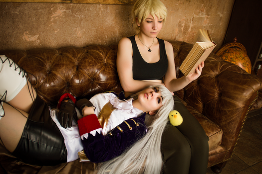 Hetalia Nyotalia Germany Prussia cosplay by Rubrum-Cervi