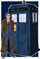 The 10th Doctor by Maygirl96