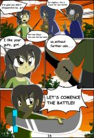 Angelica and the samurai school page 16 by DiscoSaeba