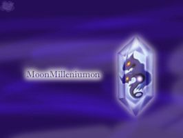 MoonMilleniumon Wallpaper by c-sacred